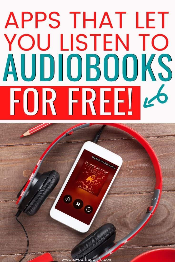 best apps for audiobooks