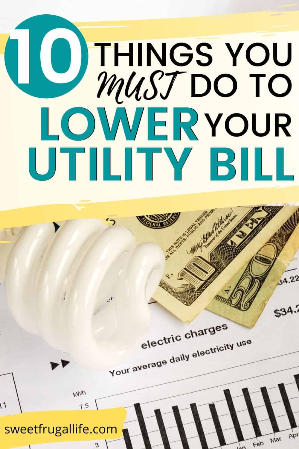 lower utility bill