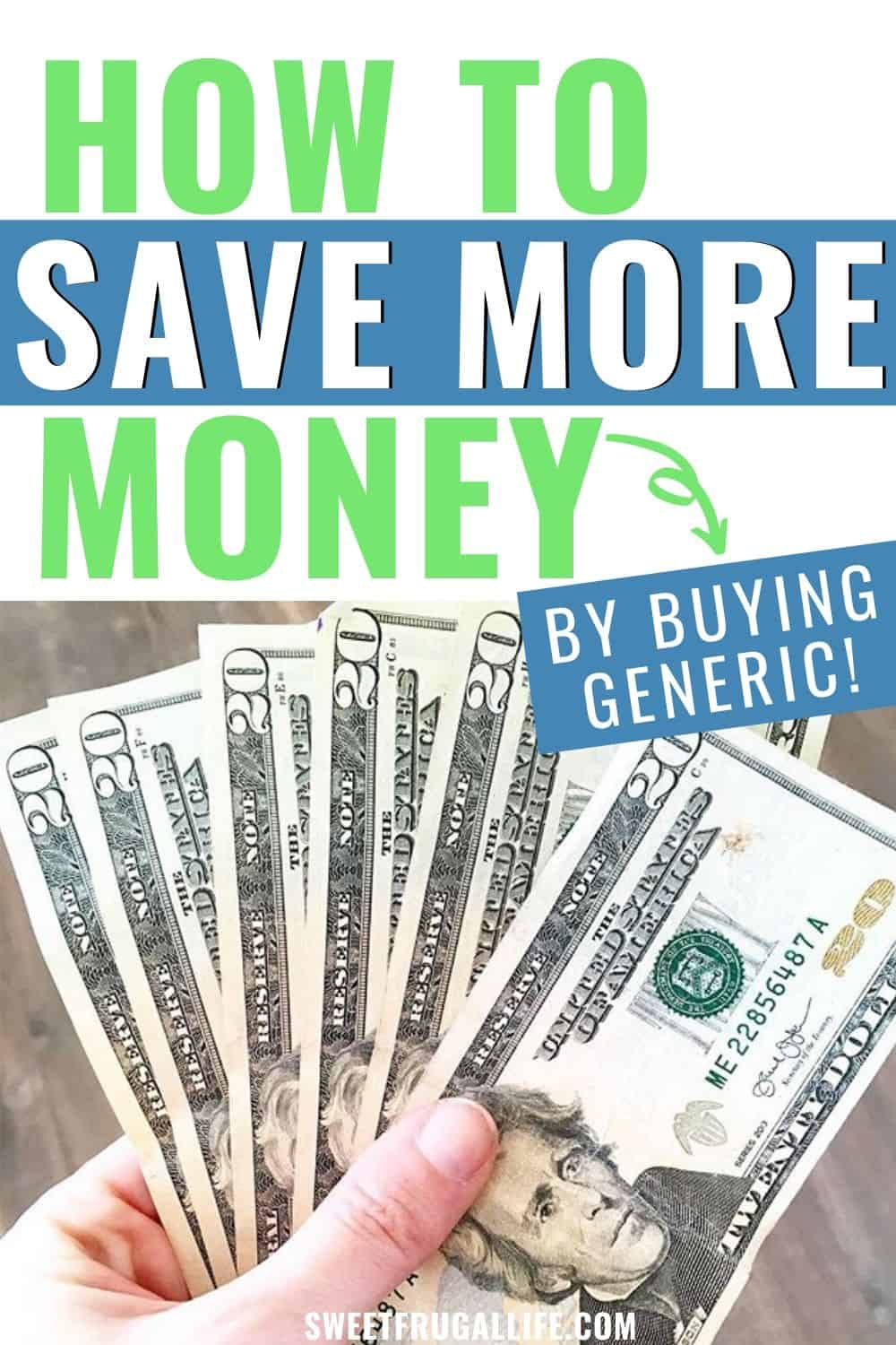 save more money buy generic