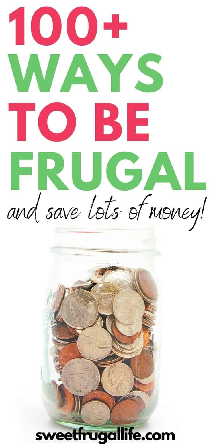 ways to be frugal - how to be frugal