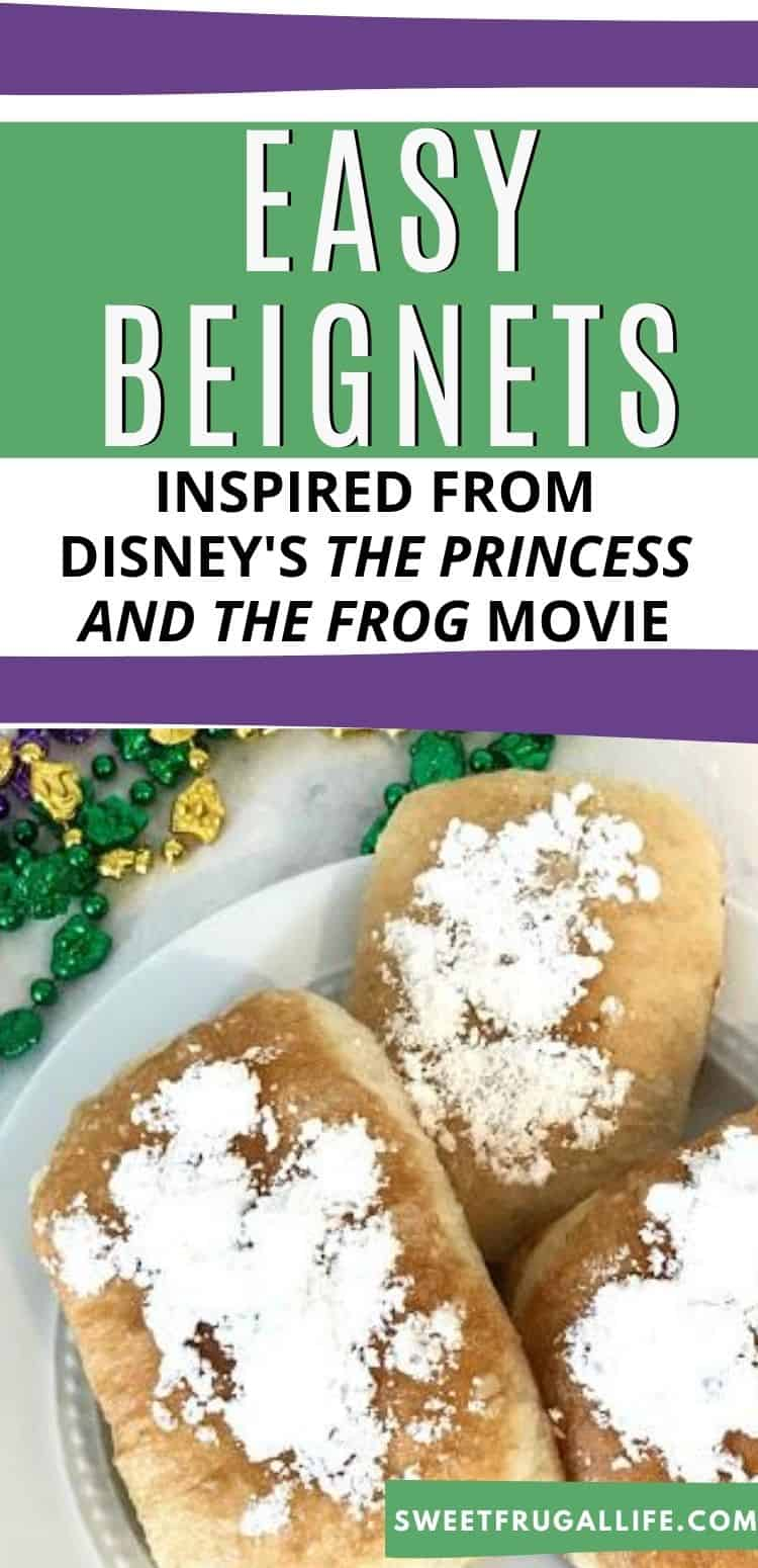 how to make tianas beignets - beignet recipe from princess and the frog