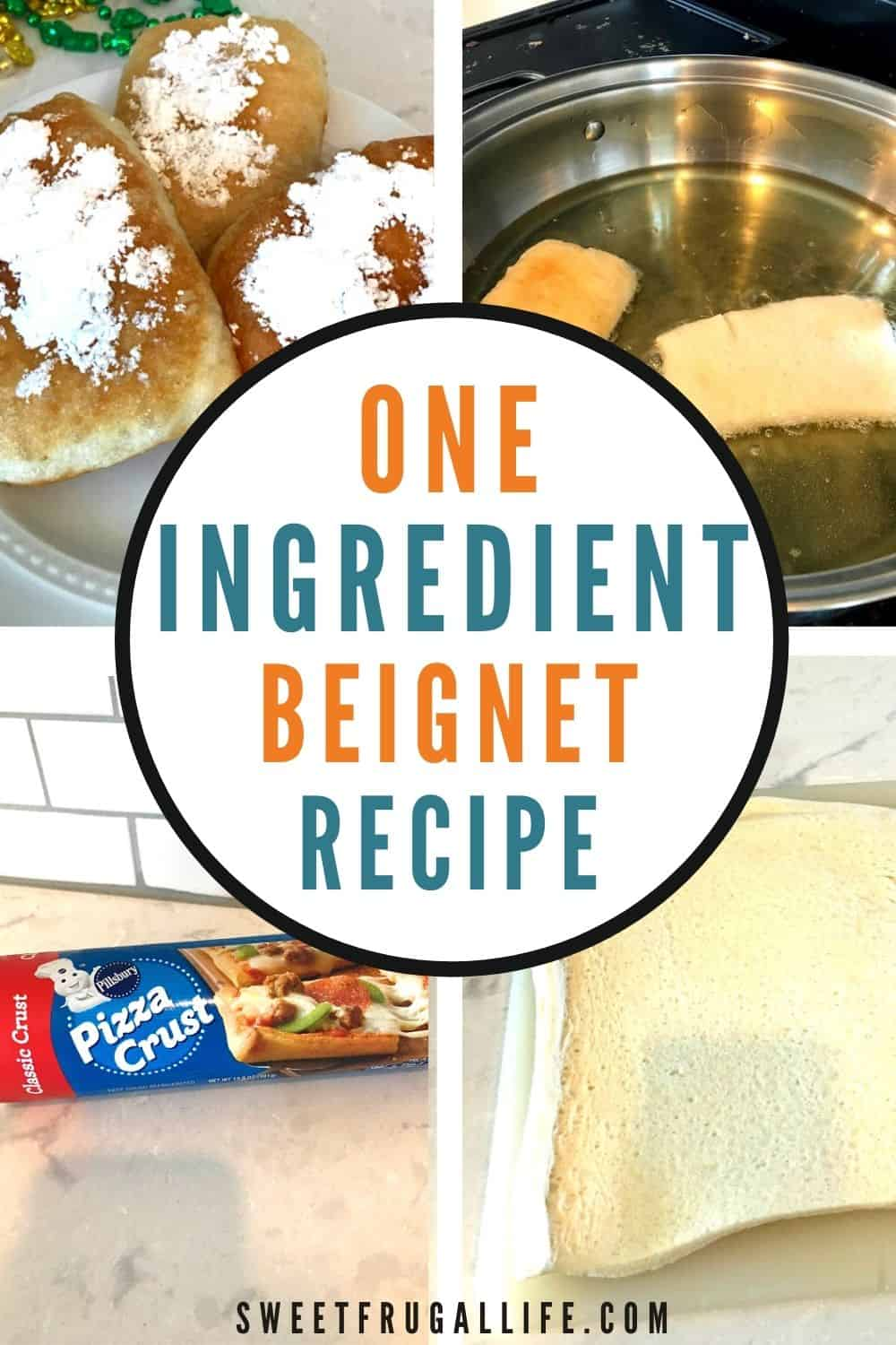 easiest beignet recipe - how to make beignets at home
