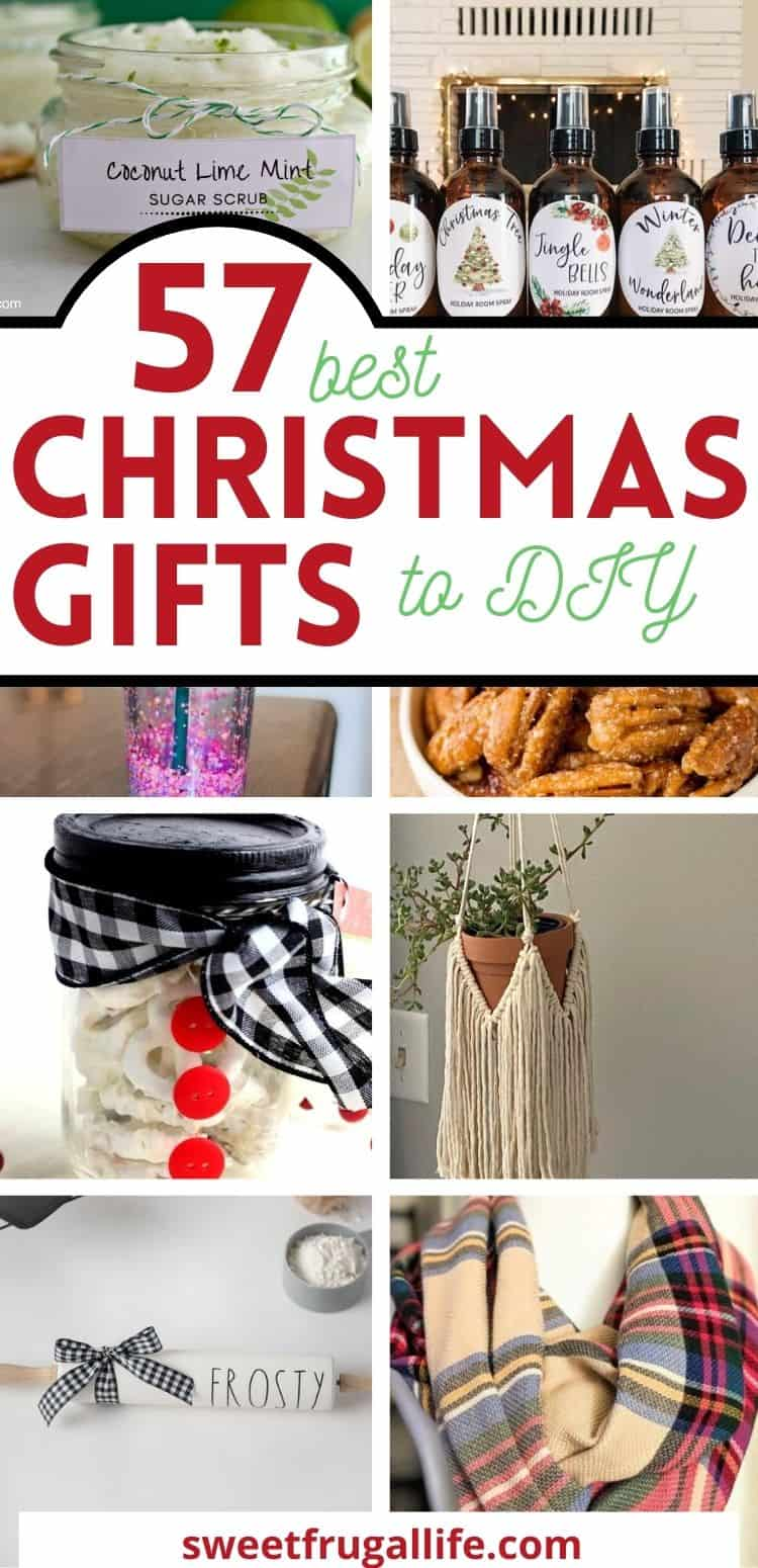 best DIY gifts for Christmas - gifts to make this year