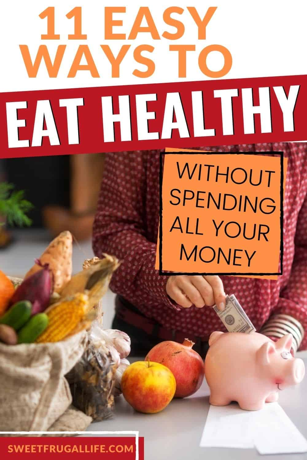 eat healthy for cheap - save money on healthy food