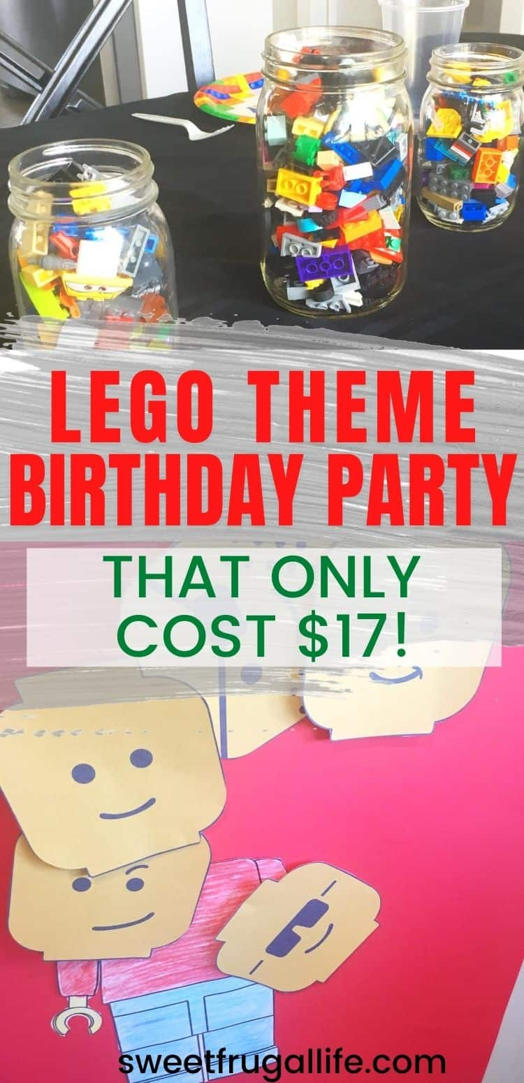cheap lego party ideas - boys birthday party theme legos