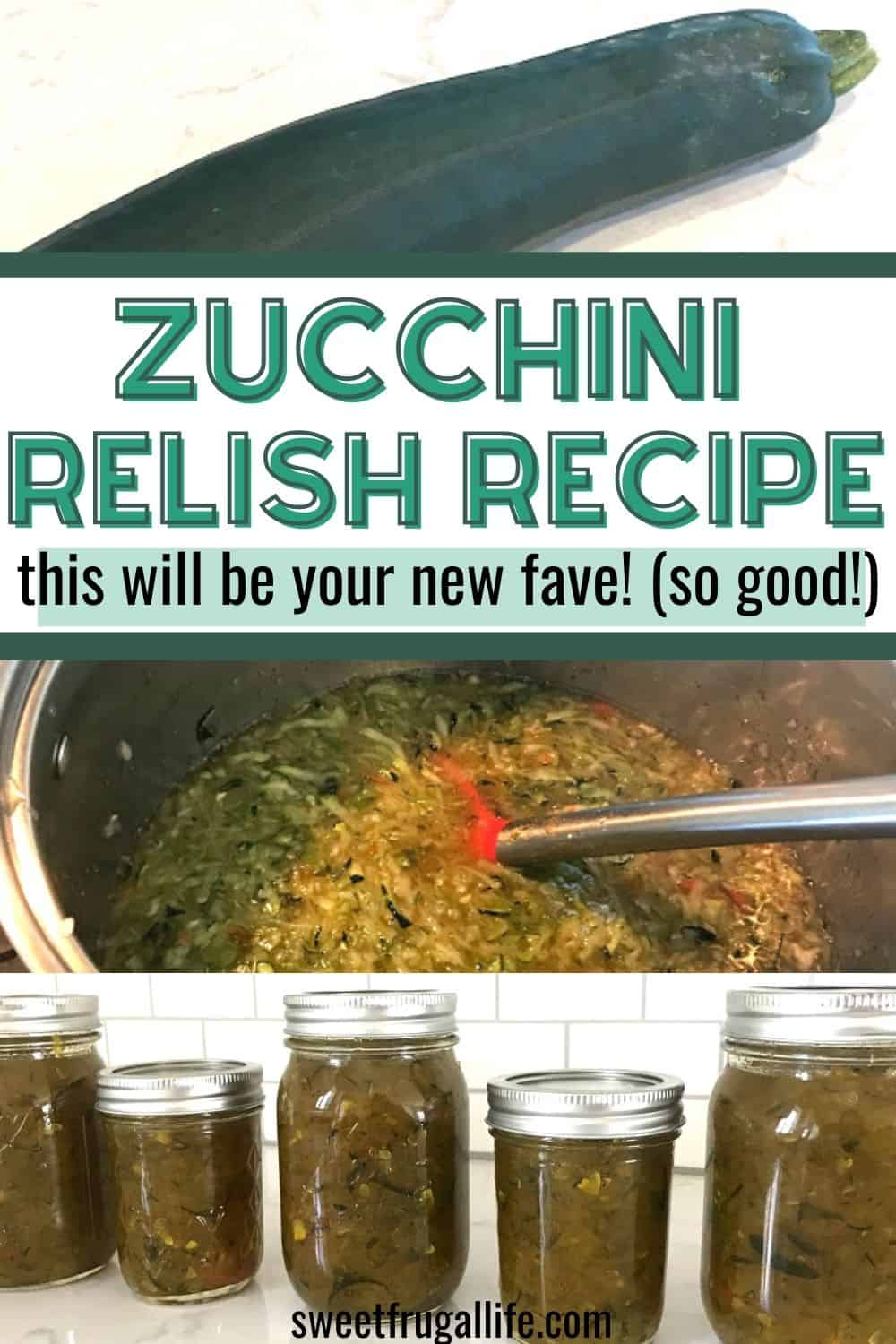 zucchini relish recipe - how to make zucchini relish