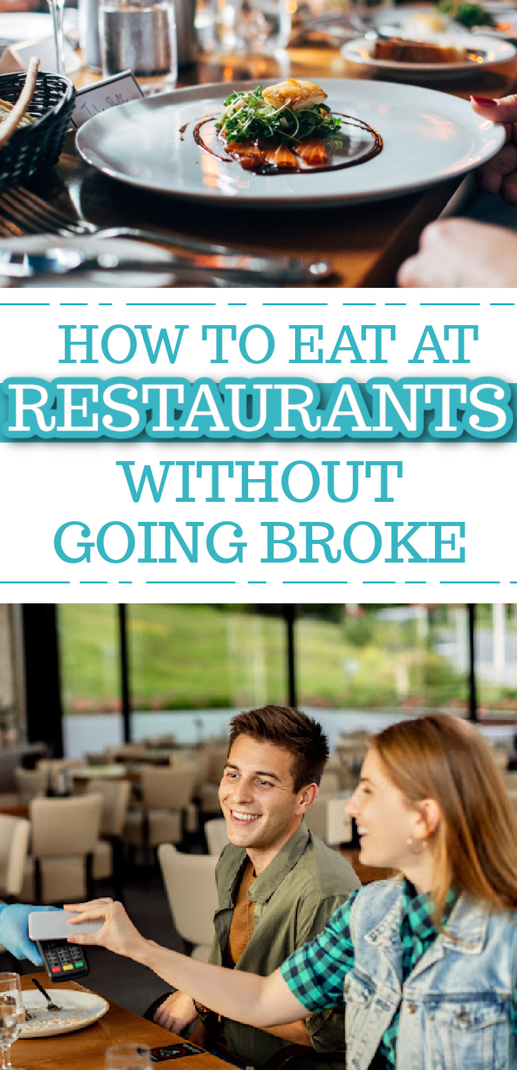 how to eat out on a small budget - frugal restaurant tips