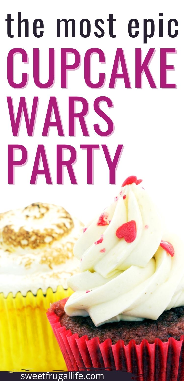 girl birthday party themes - cupcake wars party