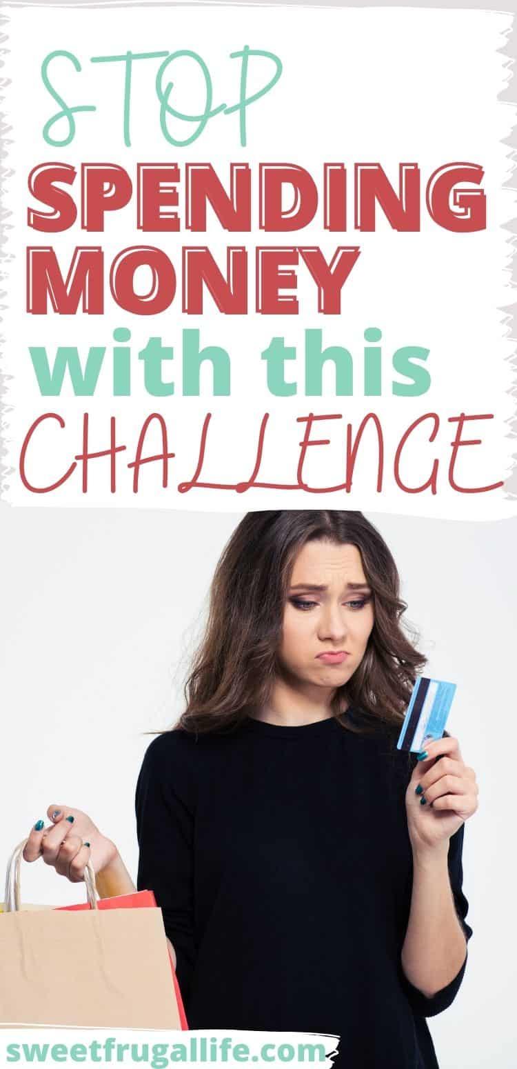 stop spending money - no spend challenge tips