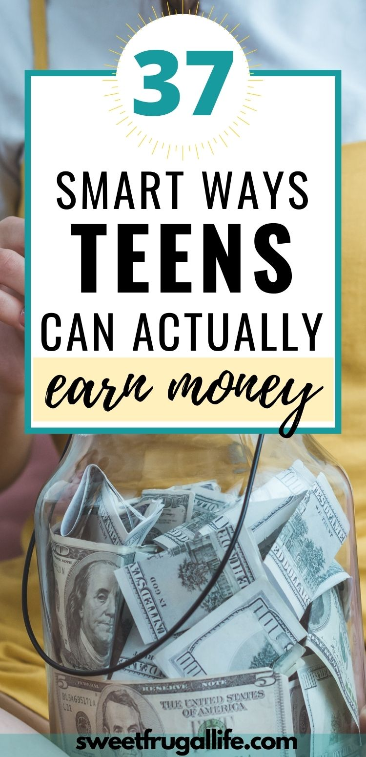 ways for teens to earn money - best jobs for teens to do