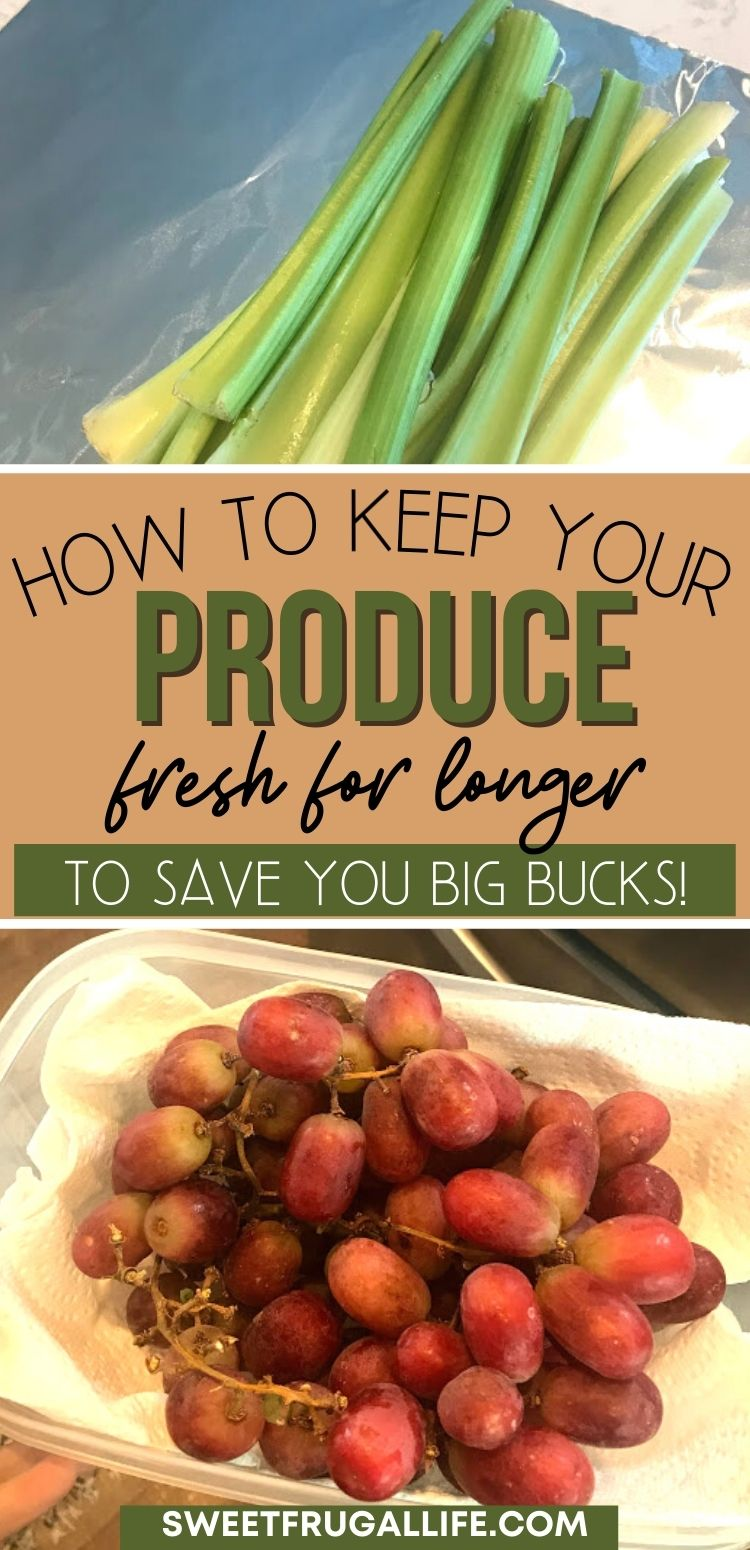 how to prevent produce from going bad quickly - saving money on food