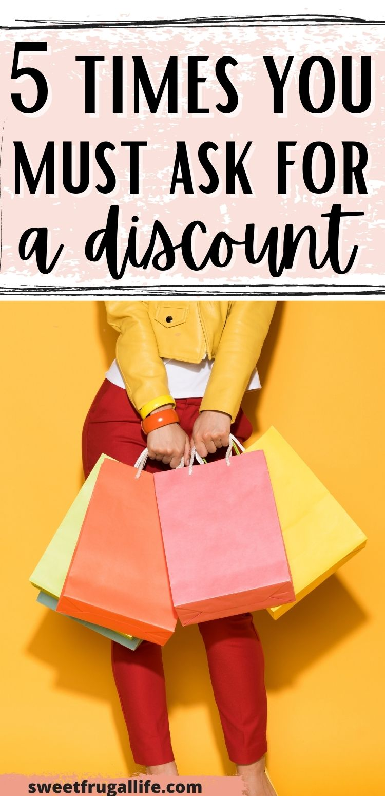 when to ask for a discount - how to ask for discounts when shopping