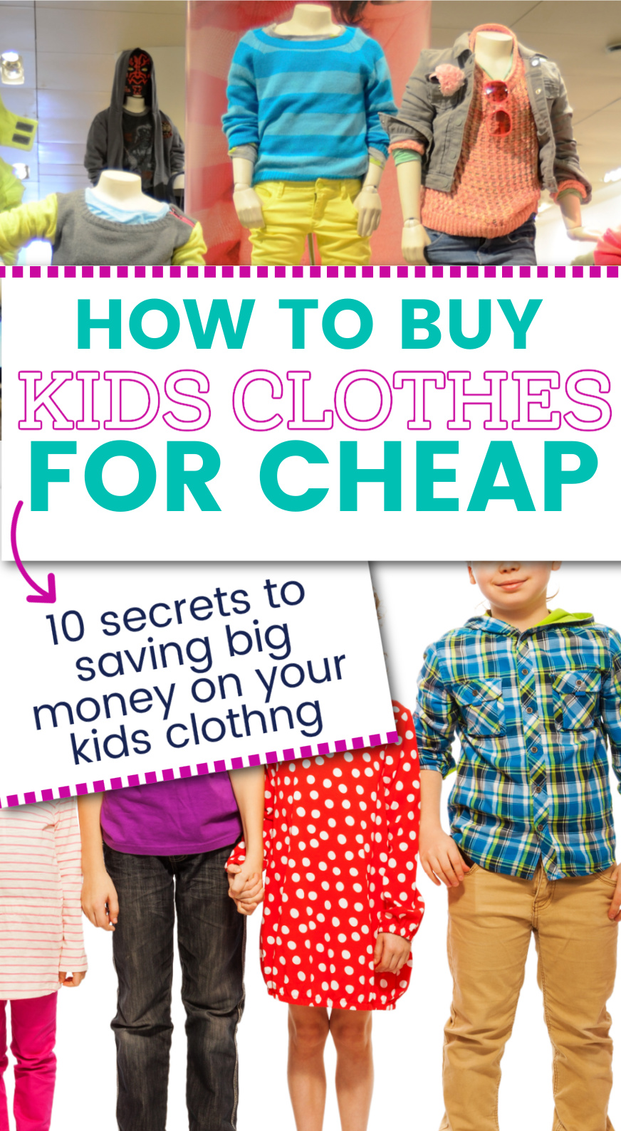 how to save money on kids clothes - parenting tips