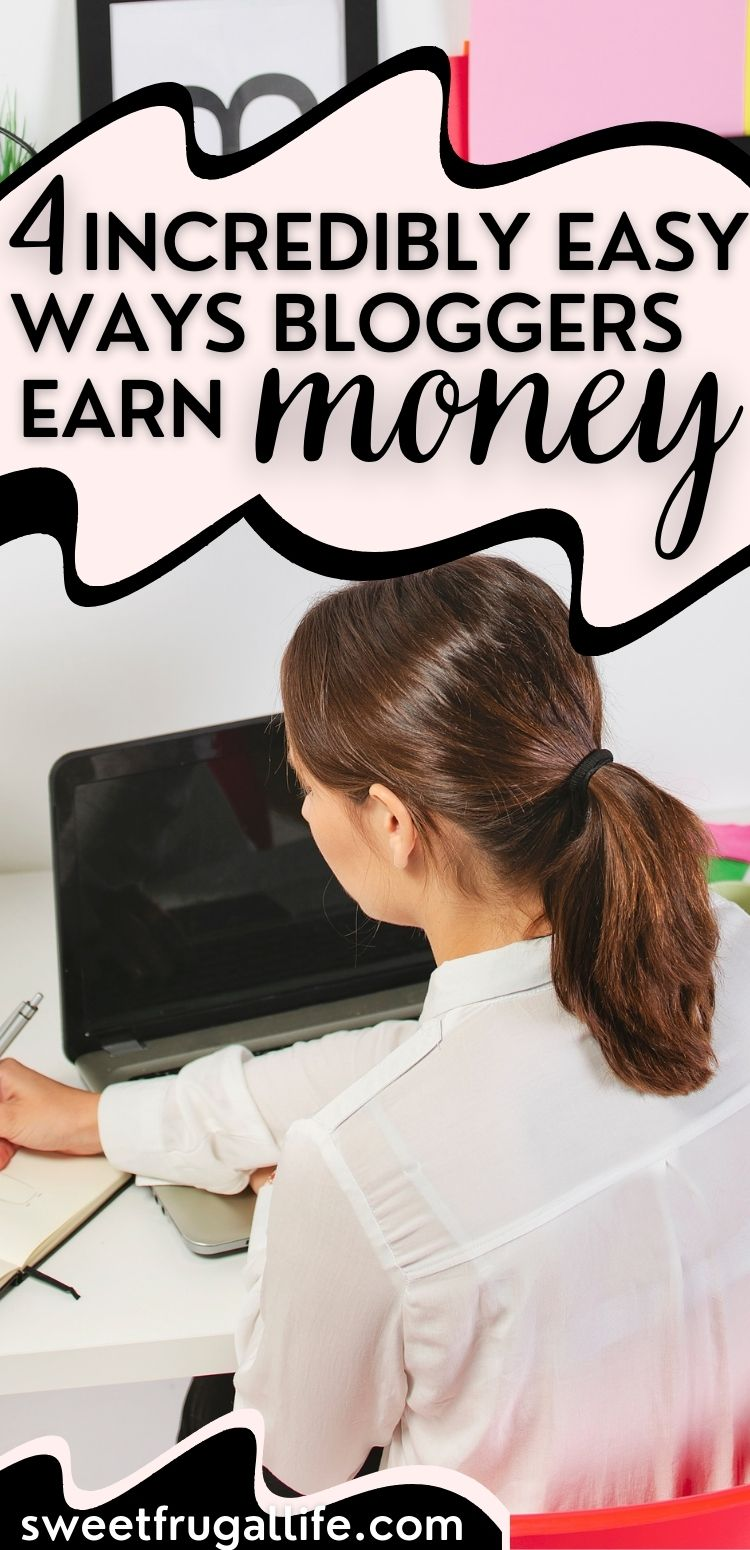 bloggers earn money - how to make money from a blog