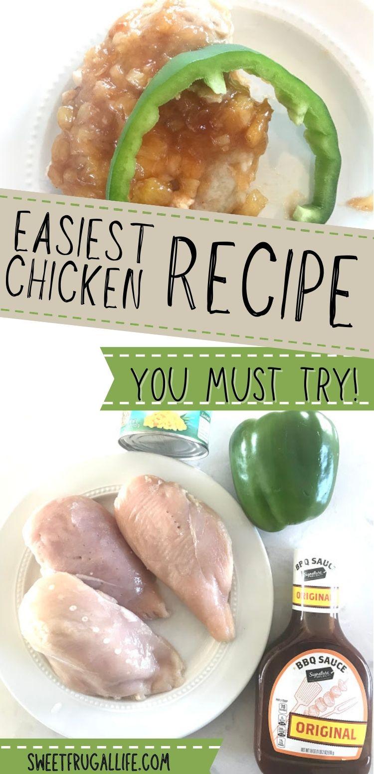 easy chicken recipe - waikiki chicken recipe