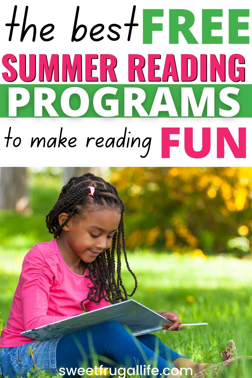summer reading for kids  - free summer activities