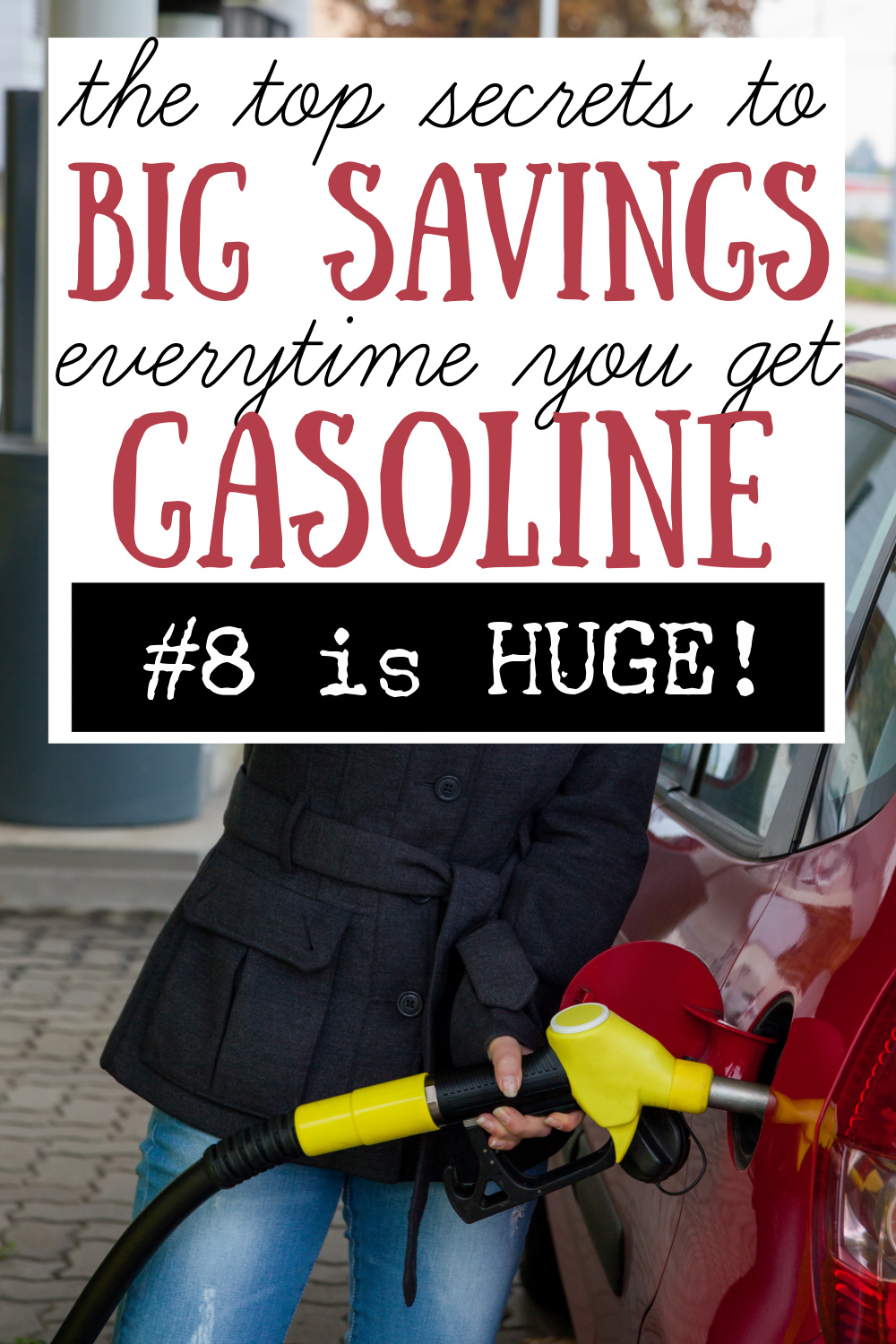 money saving tips for gas - how to spend less on fuel
