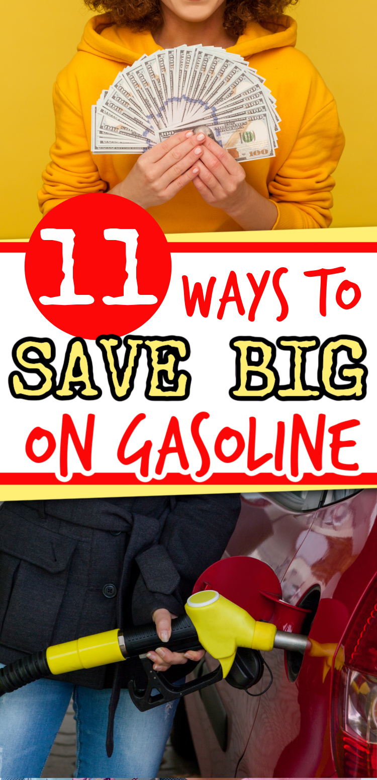 how to save money on gas - frugal tips for fuel
