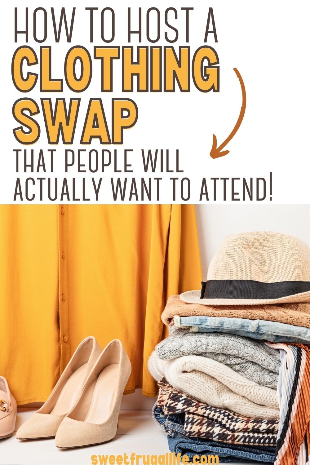hosting a clothing swap - easy way to save money on clothing