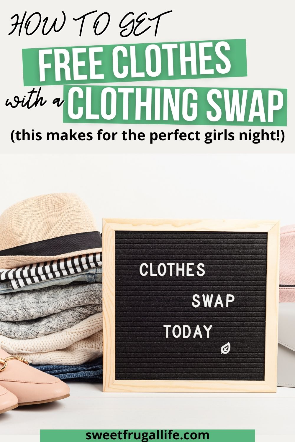 how to get free clothes - fun clothing swap girls night