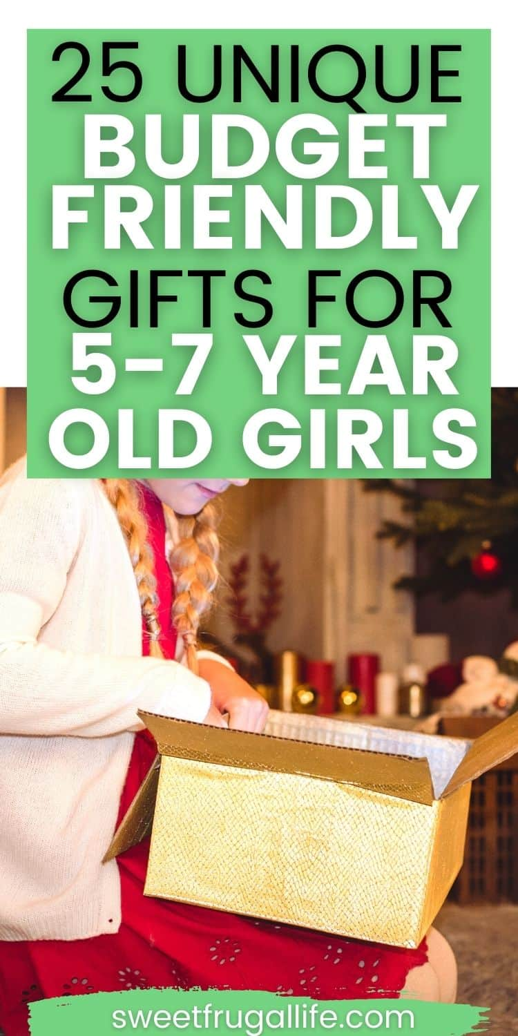 budget friendly gifts for 7 year old girls - cheap gift ideas for girls