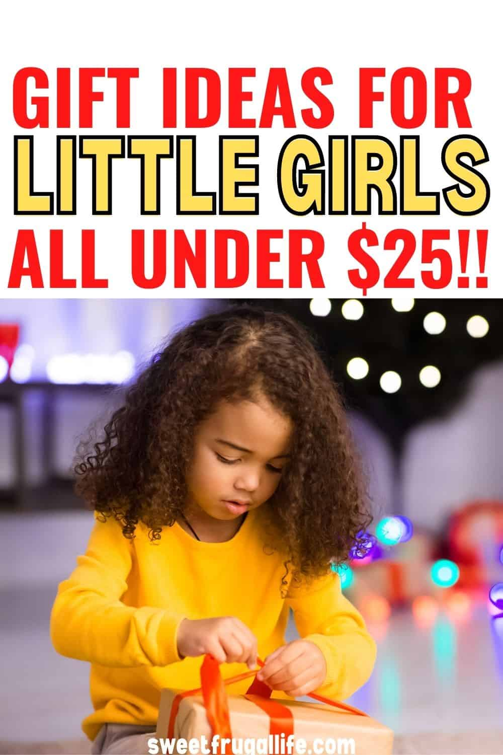 gift ideas for little girls - gift ideas for 5 year olds