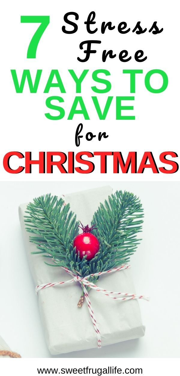 save for christmas