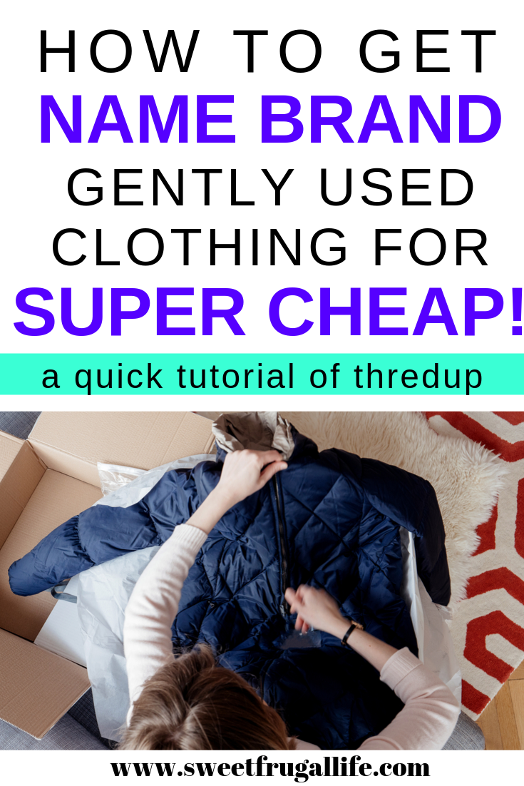 How to get name brand clothing for super cheap by shopping at thredup