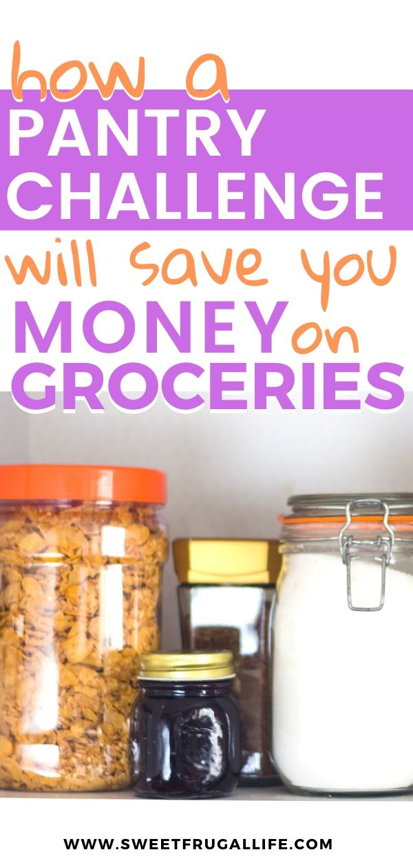 How a Pantry Challenge will save you money on groceries budgeting | Frugal living | frugal tips | frugal recipes | cheap foods #savingmoney #groceryhacks #spendlessonfood