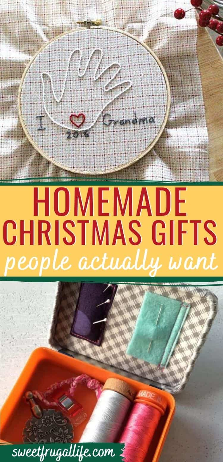 Best Homemade Christmas Gift Ideas Sweet Frugal Life